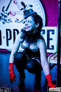 Photo of Cherie Sweetbottom by PJ Rey at the Red Palace, Washington, DC