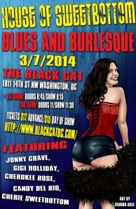 Flyer by Steven Warrick with art by Karina Dale; original reference photo by StereoVision Photography.