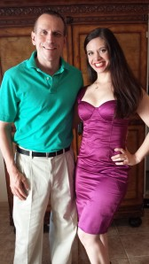 """On set filming Investigation Discovery's  Deadly Affairs Season 3 Episode 8, """"Games People Play"""" with Nick Balzer, who plays Robert Marshall."""